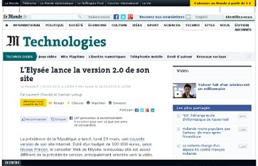 http://www.lemonde.fr/technologies/article/2010/03/29/elysee-fr-en-version-2-0_1325637_651865.html