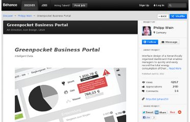 http://www.behance.net/gallery/Greenpocket-Business-Portal/2974899