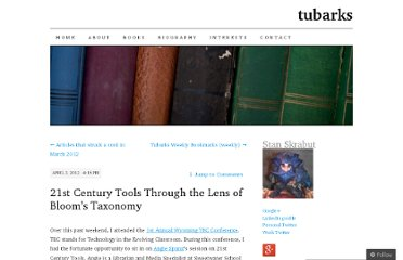 http://tubarks.wordpress.com/2012/04/03/21st-century-tools-through-the-lens-of-blooms-taxonomy/