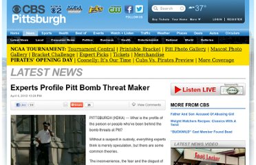 http://pittsburgh.cbslocal.com/2012/04/06/pitt-bomb-threat-maker-likely-male/