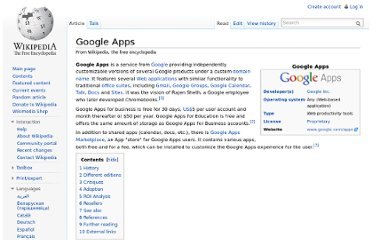 http://en.wikipedia.org/wiki/Google_Apps#Differences_between_editions