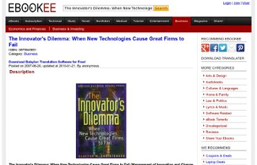 http://ebookee.org/The-Innovator-s-Dilemma-When-New-Technologies-Cause-Great-Firms-to-Fail_79023.html