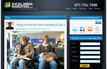http://www.socialmediamarketing.com/blog/things-to-remember-when-marketing-to-gen-y