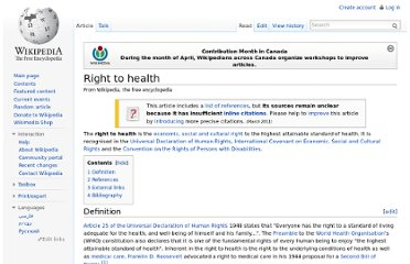 http://en.wikipedia.org/wiki/Right_to_health
