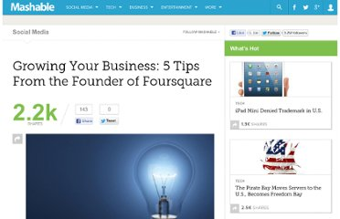 http://mashable.com/2010/03/29/growing-your-business-foursquare/