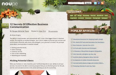 http://www.noupe.com/how-tos/12-secrets-of-effective-business-communication.html