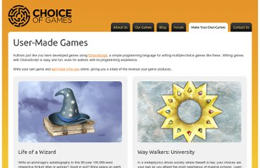 http://www.choiceofgames.com/category/user-made-games/