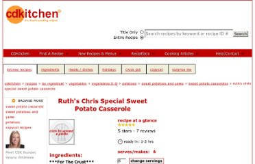 http://www.cdkitchen.com/recipes/recs/2135/Ruths-Chris-Special-Sweet-Pot101720.shtml