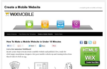 http://wixmobile.com/make-a-mobile-website