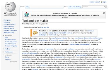 http://en.wikipedia.org/wiki/Tool_and_die_maker