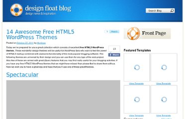 http://www.designfloat.com/blog/2011/10/27/free-html5-wordpress-themes/
