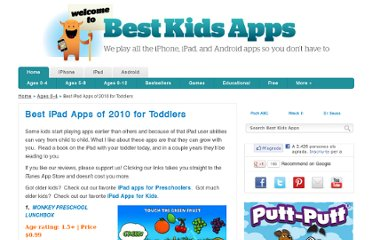 http://www.bestkidsapps.com/ages-0-4/best-ipad-apps-of-2010-for-toddlers/