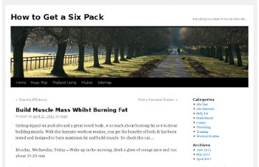 http://ihowtogetasixpack.com/blog/59/build-muscle-mass-burning-fat/
