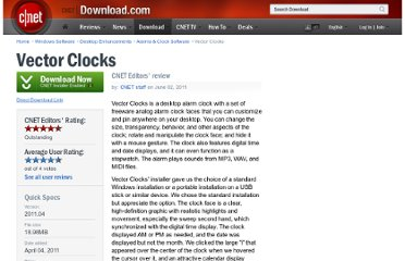 http://download.cnet.com/Vector-Clocks/3000-2350_4-75322976.html