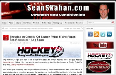 http://seanskahan.com/2012/thoughts-on-crossfit-off-season-phase-5-and-pilates-bench-assisted-1-leg-squat