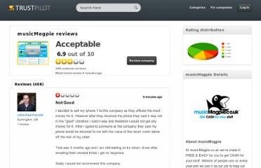 http://www.trustpilot.co.uk/review/www.musicmagpie.co.uk