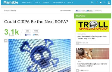 http://mashable.com/2012/04/08/could-cispa-be-the-next-sopa/