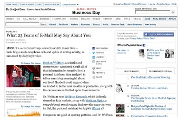 http://www.nytimes.com/2012/04/08/business/mining-our-personal-data-for-our-own-good.html?_r=1