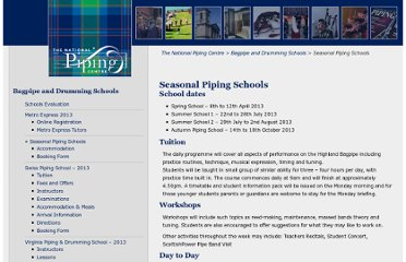 http://www.thepipingcentre.co.uk/bagpipe-drumming-schools/seasonal-piping-schools/