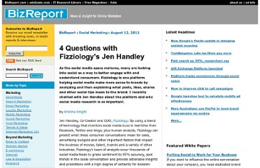 http://www.bizreport.com/2011/08/4-questions-with-fizziologys-jen-handley.html#