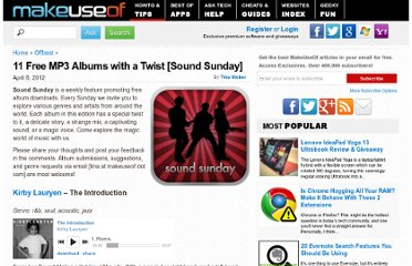 http://www.makeuseof.com/tag/11-free-mp3-albums-twist-sound-sunday/