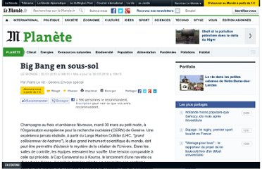 http://www.lemonde.fr/planete/article/2010/03/30/big-bang-en-sous-sol_1326131_3244.html