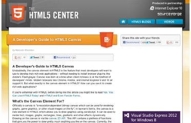 http://html5center.sourceforge.net/A-Developer-Guide-to-HTML5-Canvas