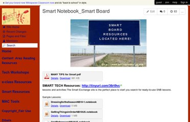 http://mrsthorpewiki.wikispaces.com/Smart+Notebook_Smart+Board