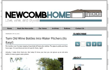 http://newcombhome.blogspot.com/2011/05/how-to-turn-wine-bottles-into-water.html