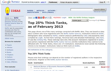 http://ideas.repec.org/top/top.ttanks.html