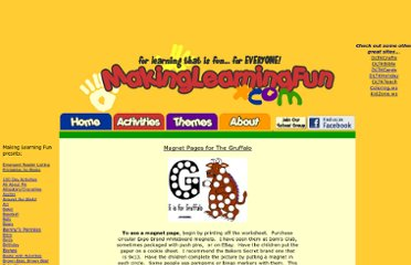 http://www.makinglearningfun.com/themepages/GruffaloMagnetPages.html