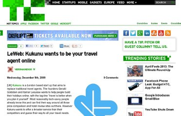 http://techcrunch.com/2009/12/09/leweb-kukunu-wants-to-be-your-travel-agent-online/