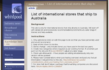 http://whirlpool.net.au/wiki/international_stores_that_ship_to_australia