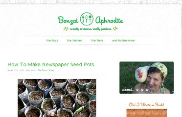 http://bonzaiaphrodite.com/2009/03/how-to-make-newspaper-seed-pots/