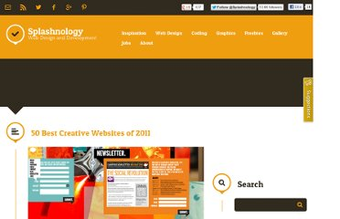 http://www.splashnology.com/article/50-best-creative-websites-of-2011/4144/