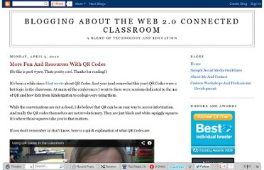 http://blog.web20classroom.org/2012/04/more-fun-and-resources-with-qr-codes.html