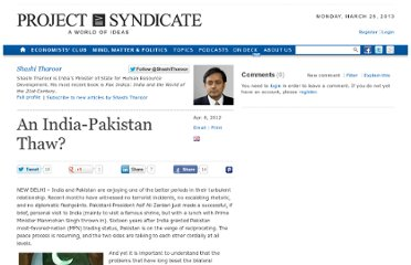 http://www.project-syndicate.org/commentary/an-india-pakistan-thaw-