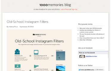 http://blog.1000memories.com/97-old-school-instagram-filters-using-vintage-cameras-and-film