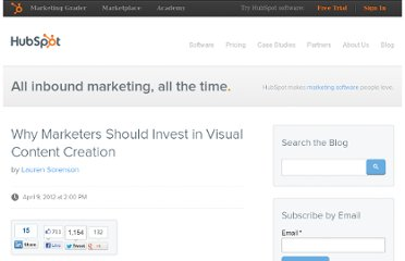 http://blog.hubspot.com/blog/tabid/6307/bid/32255/Why-Marketers-Should-Invest-in-Visual-Content-Creation.aspx