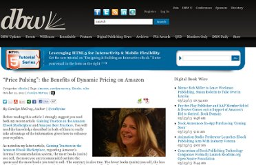 http://www.digitalbookworld.com/2011/price-pulsing-the-benefits-of-dynamic-pricing-on-amazon/