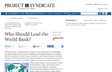 http://www.project-syndicate.org/commentary/who-should-lead-the-world-bank-