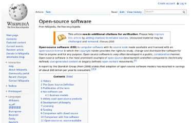 http://en.wikipedia.org/wiki/Open-source_software