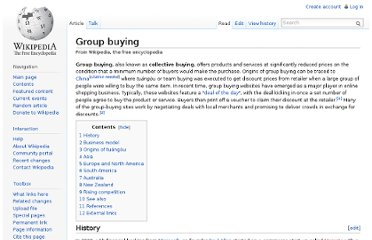 http://en.wikipedia.org/wiki/Group_buying