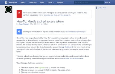 http://developers.facebook.com/blog/post/2011/05/13/how-to--handle-expired-access-tokens/