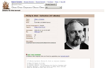 http://thepiratebay.se/torrent/4907633/Philip_K._Dick_-_Collection_(47_eBooks)