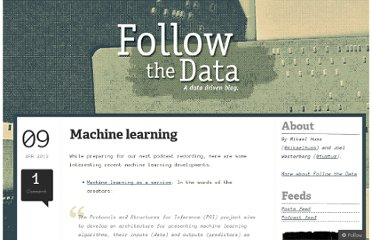 http://followthedata.wordpress.com/2012/04/09/machine-learning-8/