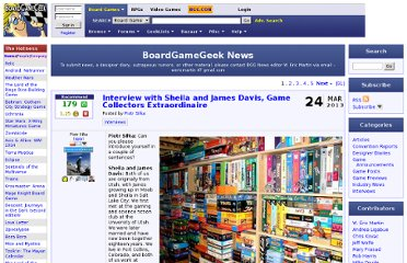 http://boardgamegeek.com/blog/1/boardgamegeek-news