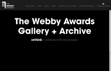 http://www.webbyawards.com/webbys/current.php?season=16