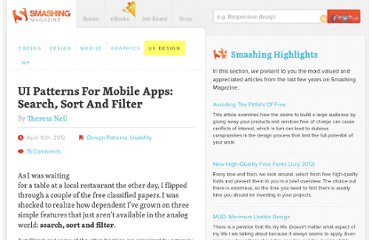 http://uxdesign.smashingmagazine.com/2012/04/10/ui-patterns-for-mobile-apps-search-sort-filter/