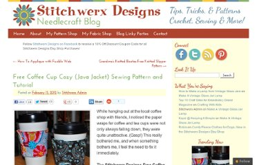 http://stitchwerx.net/free-cup-cozy-java-jacket-sewing-pattern-and-tutorial/